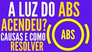 LUZ DO (ABS) ACESA NO PAINEL.CAUSA E SOLUÇÃO