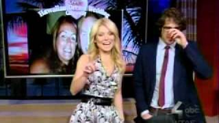 Josh Groban co-hosts Live w/Kelly 2/17/2012 -- Part 3 of 3