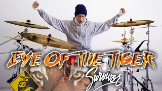 EYE OF THE TIGER - Survivor | *Drum Cover MOVIE!!*
