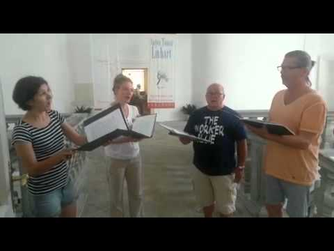 Download Youtube: Hear, O Lord in rehearsal for the 2015 Radovljica Music Festival