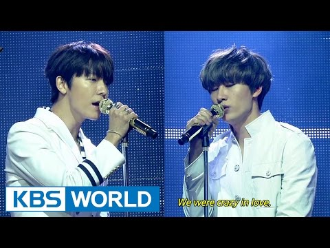 SUPER JUNIOR - D&E - The Beat Goes On / Growing Pains (너는 나만큼) [Music Bank COMEBACK / 2015.03.06]