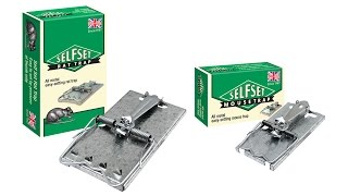 Self Set Mouse & Rat Traps - British made all metal easy setting traps by Self Set