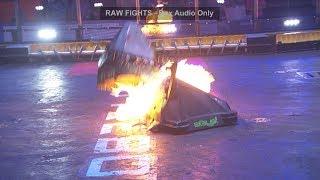 BattleBots Basement - Chomp vs. Basilisk - Unseen Grudge Match from BattleBots 2018