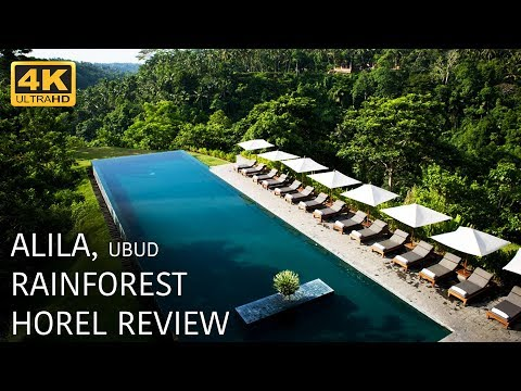 Alila Ubud - Bali Rainforest Hotel 4k Review