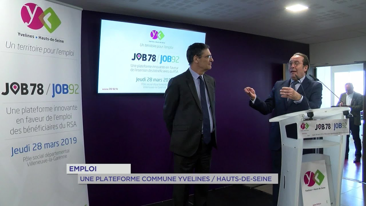 Yvelines | Emploi : une plateforme commune Yvelines/Hauts-de-Seine