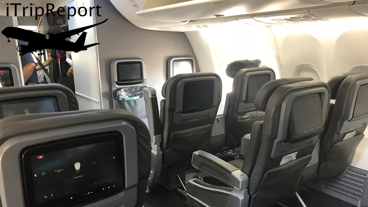 American 737 First Class Review Youtube