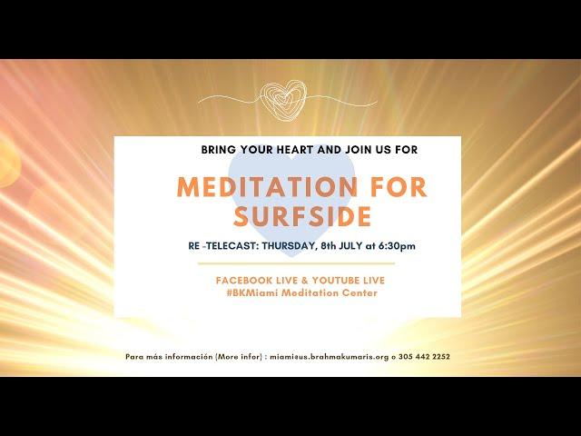 MEDITATION FOR SURFSIDE