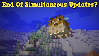 Minecraft 1.14 & Next Update: End Of Simultaneous Releases?