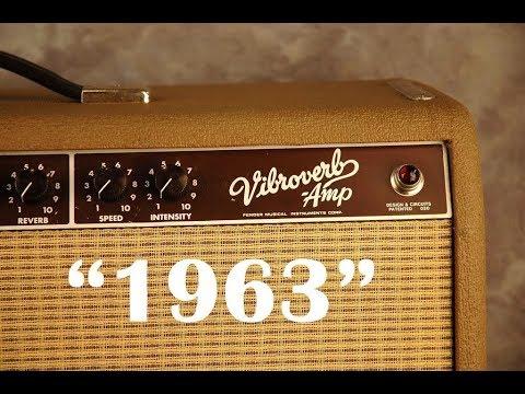 ORIGINAL 1963 Vibroverb Demo