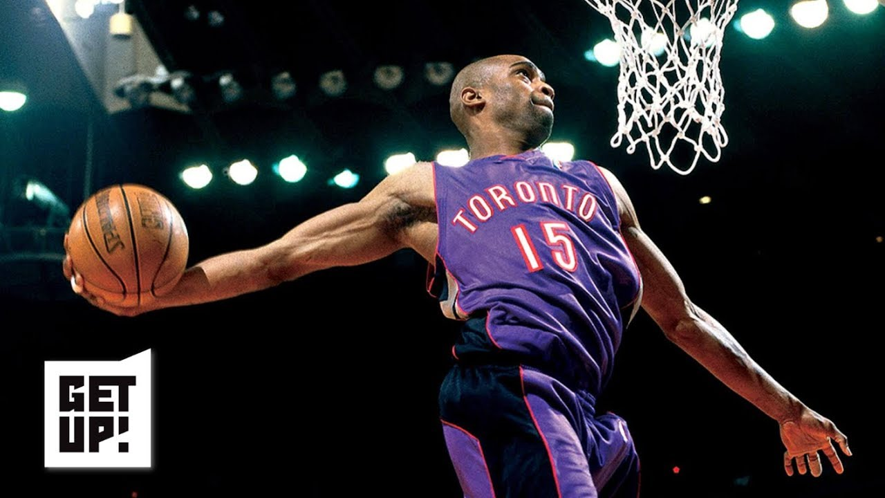 c16a31f304a Is Vince Carter's 2000 slam dunk performance better than MJ vs. Wilkins in  '88? | Get Up!