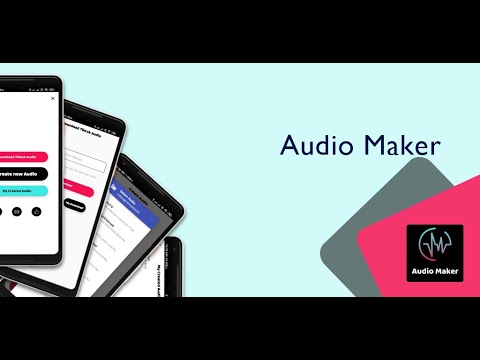 Audio Maker for for PC - latest version 2020 free download