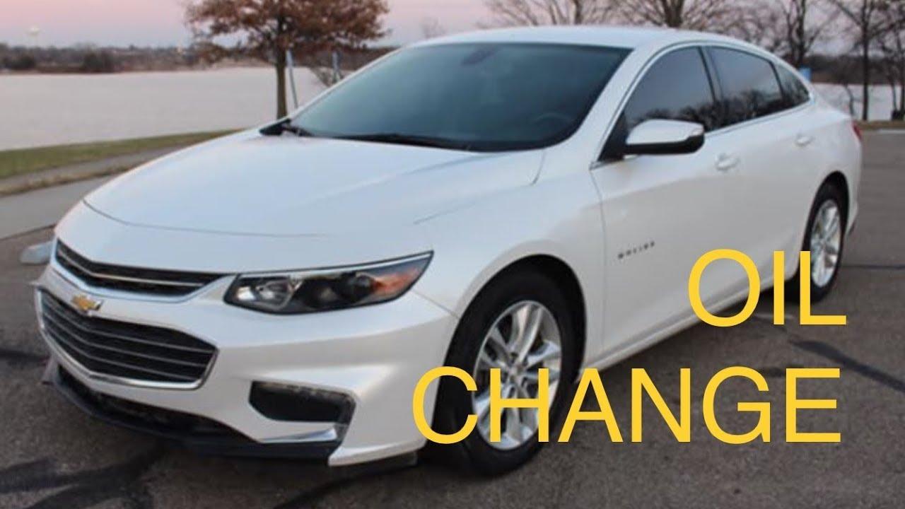 2016 Chevrolet Malibu How To Change Oil 1 5 Turbo 2019