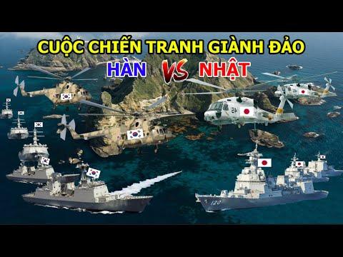Cuộc Chiến Tranh Chấp Đảo Giữa Hàn Quốc Và Nhật Bản