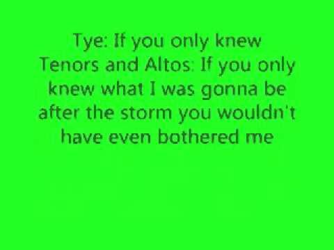 I Want It All Back Tye Tribett