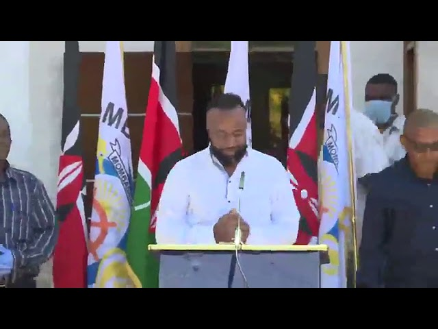 Governor Ali Hassan Joho to Provide Free Food and Rent Waivers in Mombasa as Lockdown Looms in Kenya