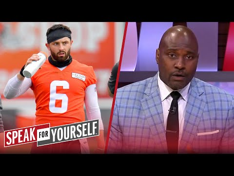 Baker Mayfield sounds 'shook & nervous' heading into next season — Wiley | NFL | SPEAK FOR YOURSELF