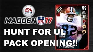 Hunt for ul newsome and randle!! mut 17 pack opening!!