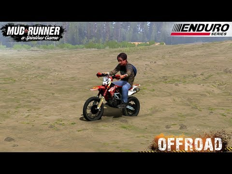 Spintires: MudRunner - Enduro Motorcycle With John Connor