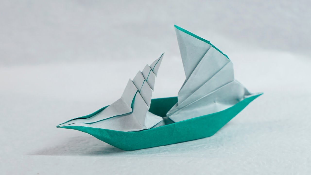 Paper Boat That Floats On Water