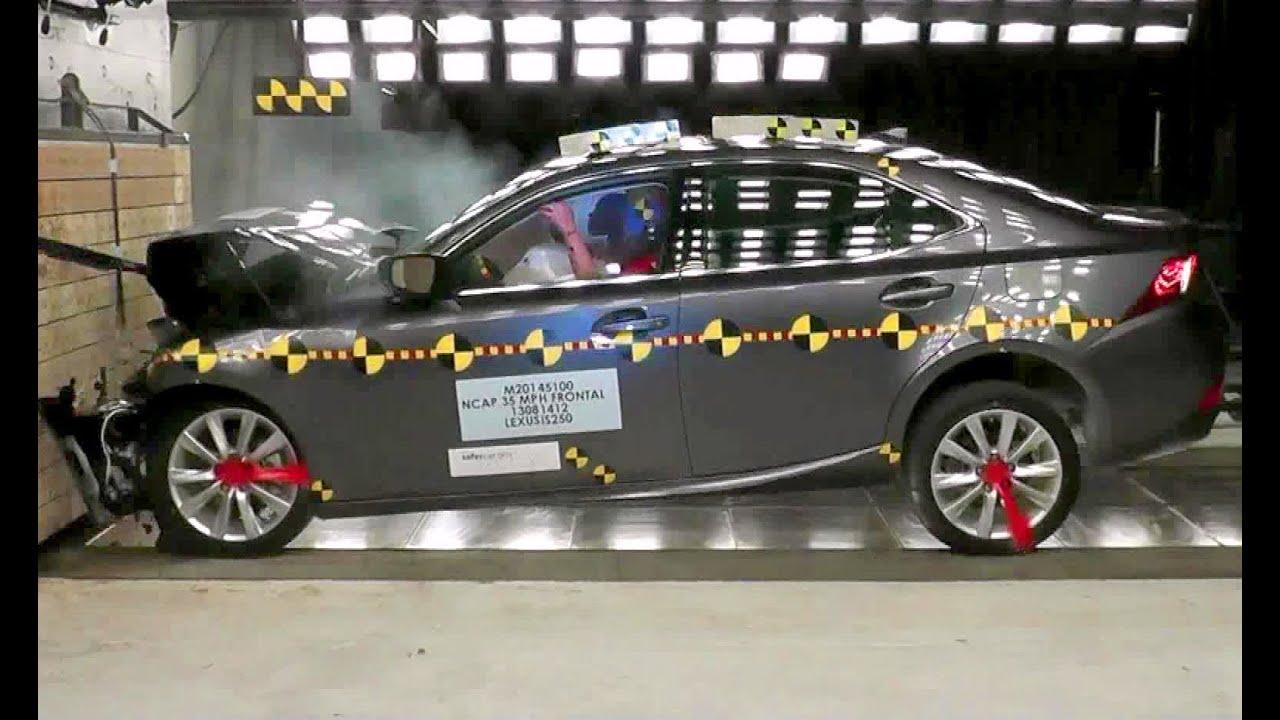 2014 Lexus Is Frontal Crash Test By Nhtsa Crashnet1