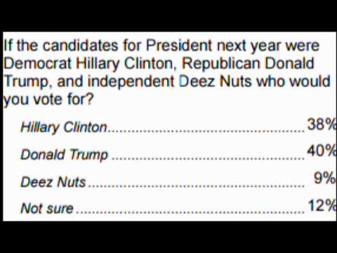 DEEZ NUTS, a Presidental candidate