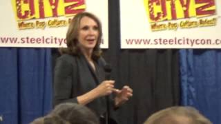 Video Gates McFadden, Steel City Con Q&A - Review Of The NERDS download MP3, 3GP, MP4, WEBM, AVI, FLV Agustus 2018