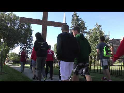 2017 8th Grade Pilgrimage - St. John Paul II Catholic Schools - 09 .29.17