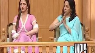 Hema Malini with Esha Deol in Aap Ki Adalat (Part 2) - India TV