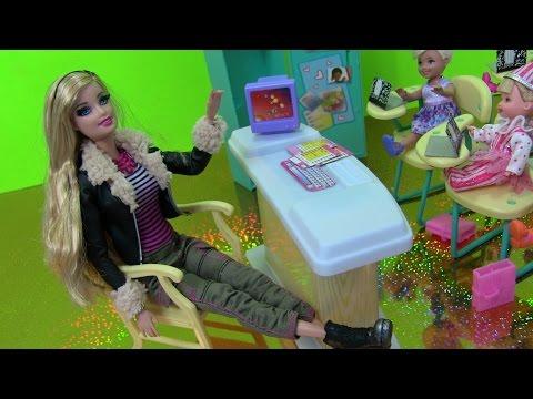 ❤Đồ Chơi Lớp Học Barbie & Mở Barbie Fashion Mới ❤Barbie
