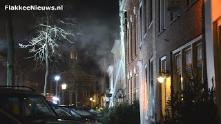 Gebouwbrand Voorstraat Middelharnis