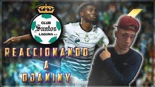 ESPAÑOL REACCIONA A DJANINY TAVARES EN SANTOS LAGUNA!!! | MEXICO