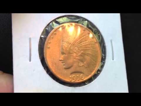 Gold Coin Spotlight - 1916-S $10 Indian Head Eagle - Popular Design