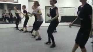 Танцевальный этюд на уроке 7-8 класов ШСХ