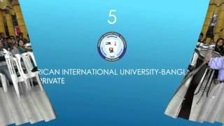 Top 10 Universities - Top 10 Universities of Bangladesh in 2016