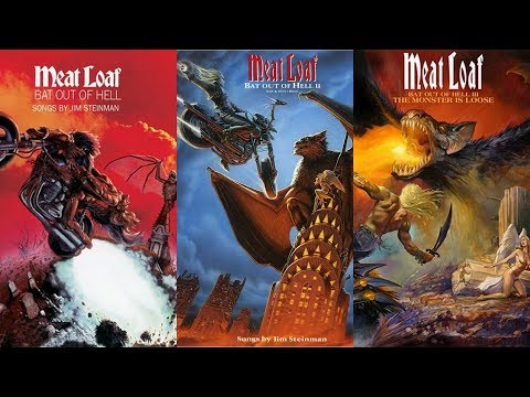 MEAT LOAF  BAT OUT OF HELL 1  2  3 medley