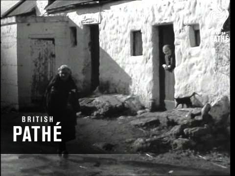 Irish Stock Shots - Country Cottages (1950-1959)