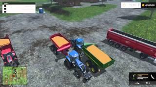 Farming Simulator 15 PC Mod Showcase: Auger Wagons