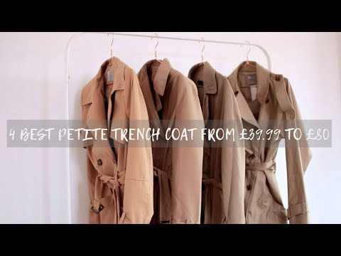 4 Best Petite Trench Coat from £39.99 to £80 & How to Wear⎮Fashionbeautybug