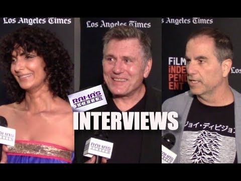 My LAFF 2018 Interviews With Poorna Jagannathan, Bill Feehely & Billy Senese   'THE DEAD CENTER'