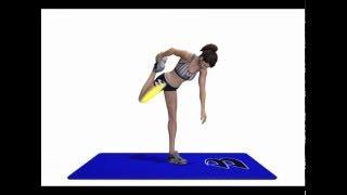 伸展放鬆大腿肌肉【入門】版~消除象腿回復原力✄運動教學✄