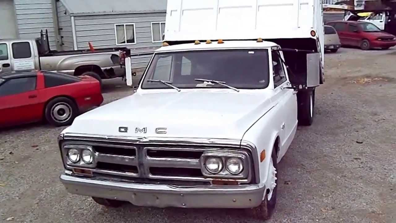 1971 Gmc C35 Dually Dump Truck For Sale Youtube Ford