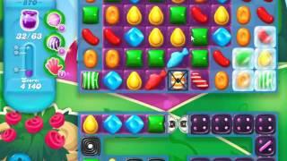 Candy Crush Soda Saga Level 870 - NO BOOSTERS