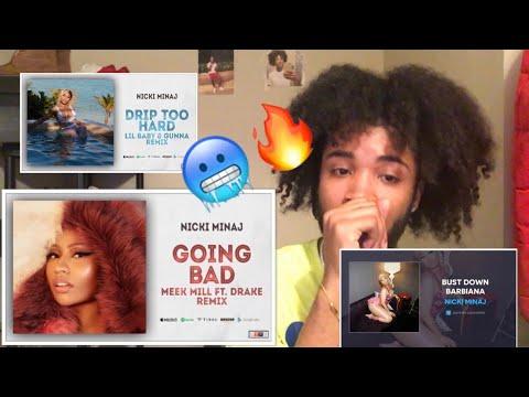 f03839b22a35 Nicki Minaj - Bust Down Barbiana (Lyrics) Reaction - YouTube