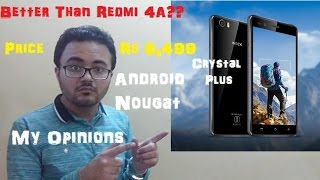 Intex Aqua Crystal Plus Worth Buying? My Opinions in Hindi | SR Technical