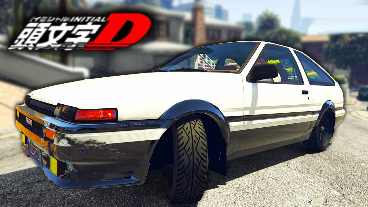 toyota ae86 initial d gta 5 mod 39 s youtube. Black Bedroom Furniture Sets. Home Design Ideas