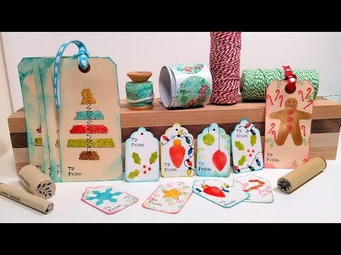 DIY Gift Wrap Kit! Tags, Labels & Washi Tape to Dress Up you
