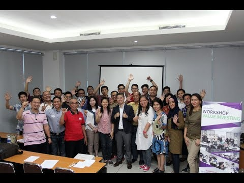 Workshop Value Investing by Rivan Kurniawan - Jakarta 11 Nov 2017