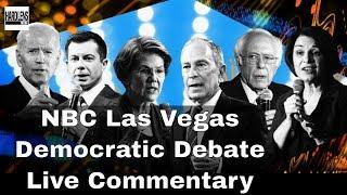 Live: NBC Las Vegas Debate Coverage Bernie Sanders Mike Bloomberg