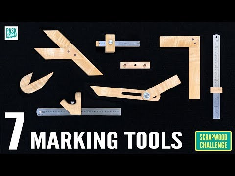 7 Homemade Marking Tools for Woodwork - Scrapwood Challenge ep27