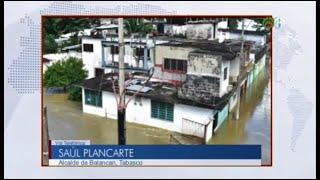 Balancán tiene 8000 afectados por desbordamiento del río Usumacinta: Saúl Plancarte